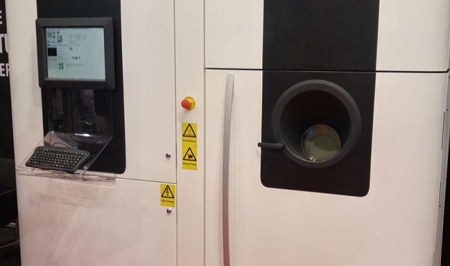 Photo of Arcam EBM metal 3D printer