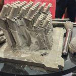 Photo of metal 3D printed parts using EBM